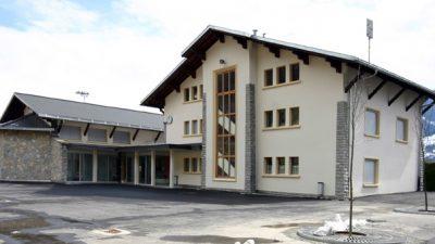 Centre scolaire Flanthey façade